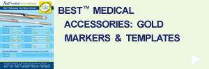 Best Medical International - Gold Markers & Templates