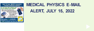 Medical Physics Email Alert