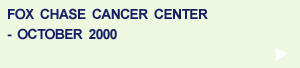 Fox Chase Cancer Center