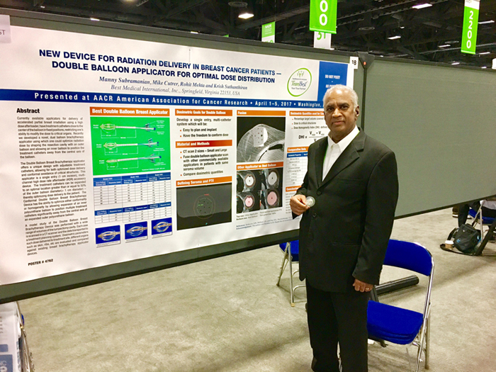 AACR Washington, DC, 2017: Scientific Poster Presentation - Clinical Studies / Radiation Therapy